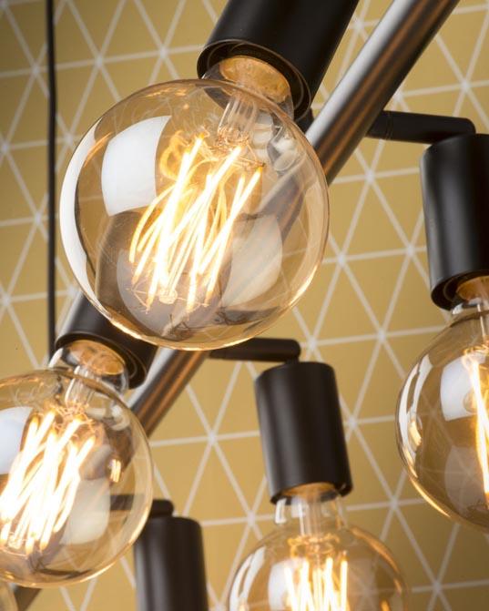 Lampa wisząca Miami czarna It's About RoMi