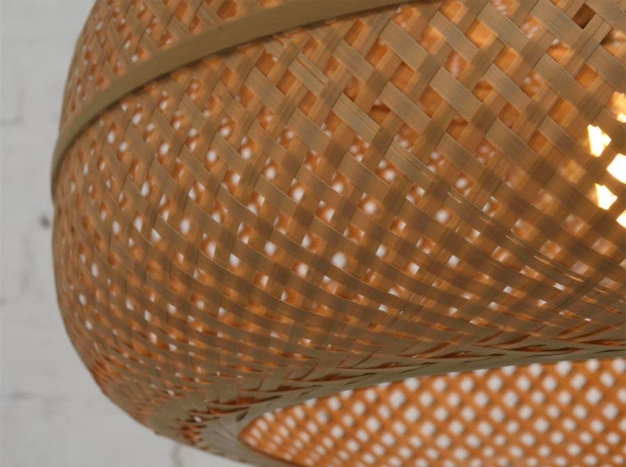 Lampa wisząca Palawan naturalna, Good&Mojo
