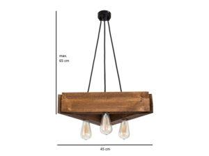 Lampa wisząca Parilla rustyk Mabrillo