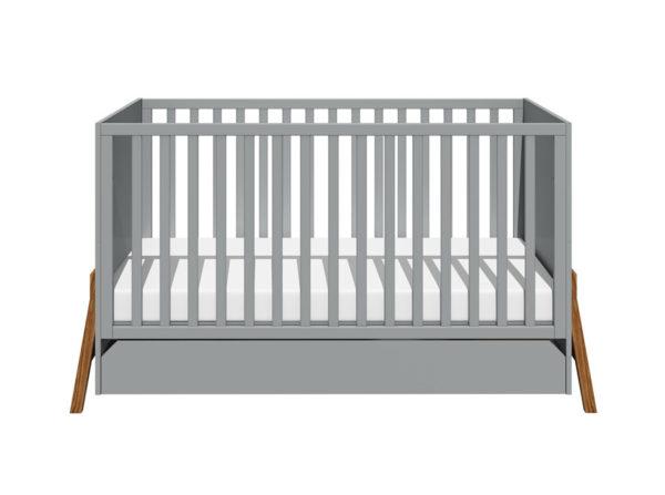 Łóżeczko Lotta szare, Bellamy