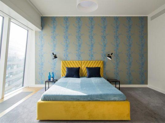 Łóżko Mio Design z pojemnikiem i podnośnikiem Absynth