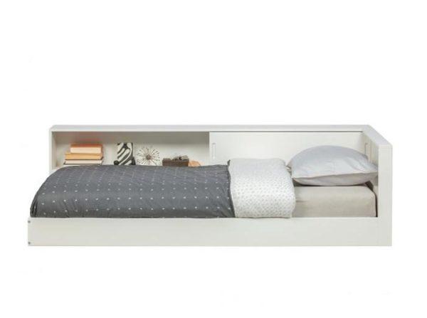 Łóżko narożne Connect białe Woood