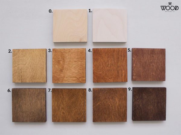 Paleta wosków Wood Republic