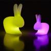 Lampka królik do pokoju dziecka. Lampka świeci na 16 kolorów i jest również doskonałym fotelikiem dla naszego skarba