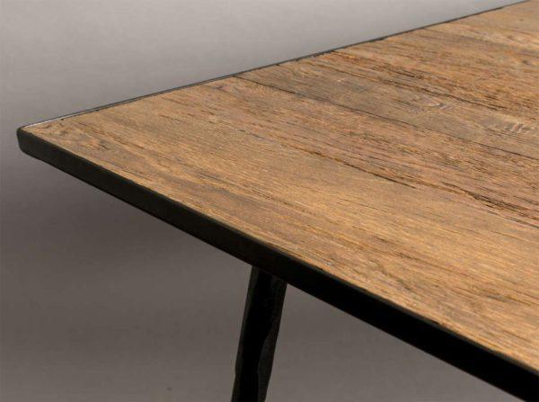 Stół Pepper 160×90 brązowy Dutchbone
