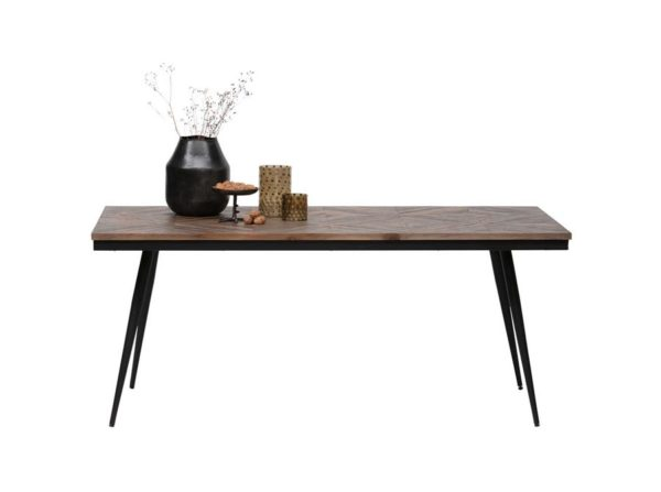 Stół Rhombic drewno metal 180×90 Be Pure
