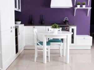 Rozkładany stół Valentino biały Durbas Style