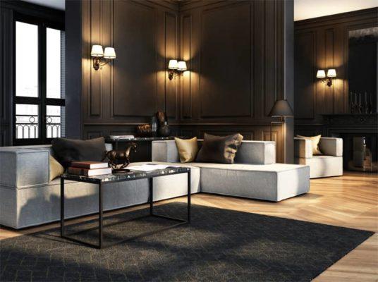 Stolik wykonany z włoskiego marmuru. Elegancki stolik kawowy do salonu