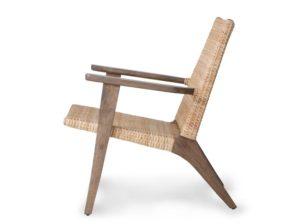 Tkane krzesło wypoczynkowe HKliving