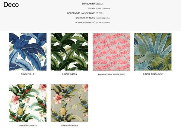Wzornik materiałów Deco 366 Concept