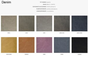 Wzornik materiałów Denim 366 Concept