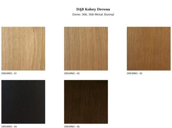 Wzornik wybarwień drewna 366 Concept