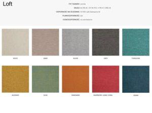 Wzornik materiałów Loft 366 Concept