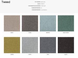 Wzornik materiałów Tweed 366 Concept