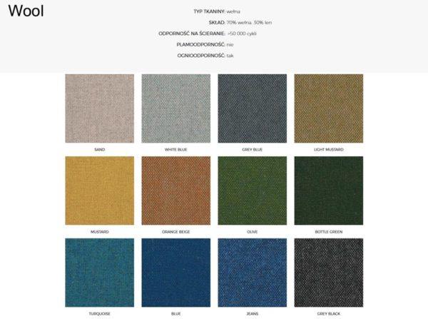 Wzornik materiałów Wool 366 Concept